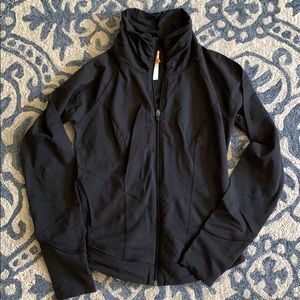 Lucy Black Zip-up Jacket